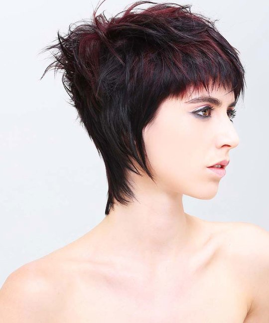 How To Do A Concave Triangular Layered Haircut