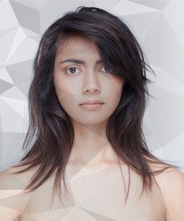 Long Loose Safety Razor Shape Haircut