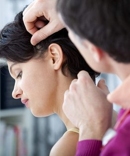 A tutorial in client preparation for hair services
