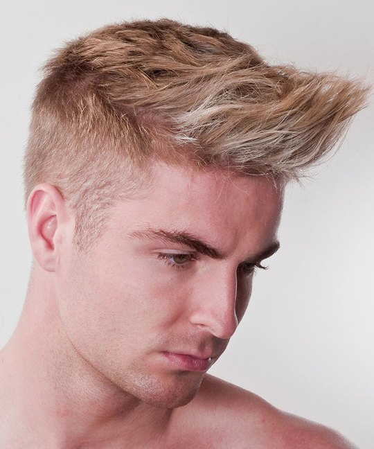 Men's Short Flat Graduation Haircut