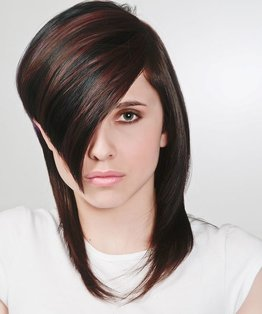 Basic Concave Layer Hairstyle Tutorial