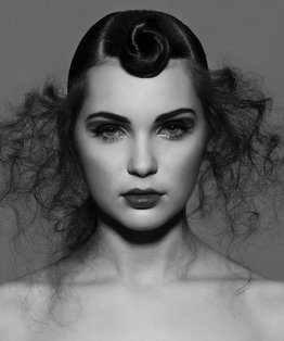 Editorial Twist Hairstyle