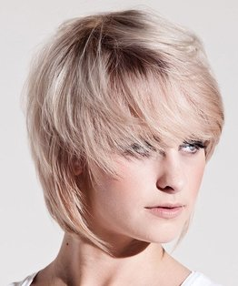 Round Layer Variation Haircut