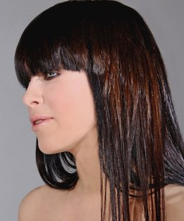 The Flip Chop, long hair, layered haircut, lee stafford