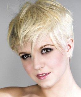 Agnes Hairstyle, Agyness Deyn, haircut