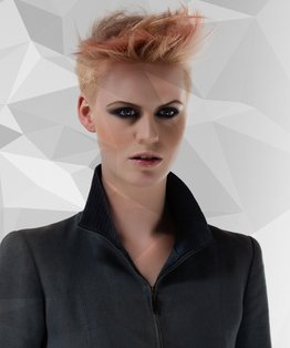 Interlocking Pastel Shades Hairstyle