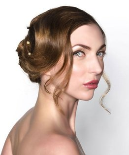 Classic Bridal Curls Updo Video Tutorial