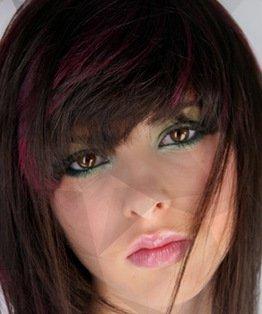 hair colouring video. dark hair, brown hair