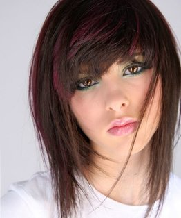 hair colouring video. dark hair, brown hair