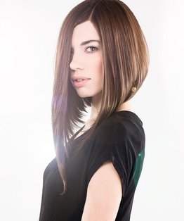 Long A-Line Shape Haircut
