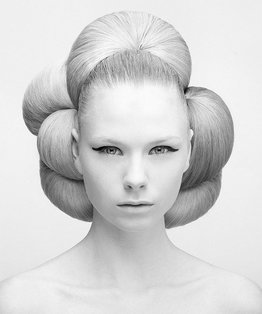 Spherical Shape Hairstyle