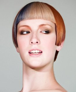 Square Fringe Haircut