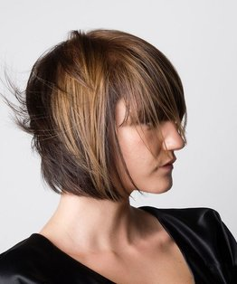 Internal Layered Bob Haircut