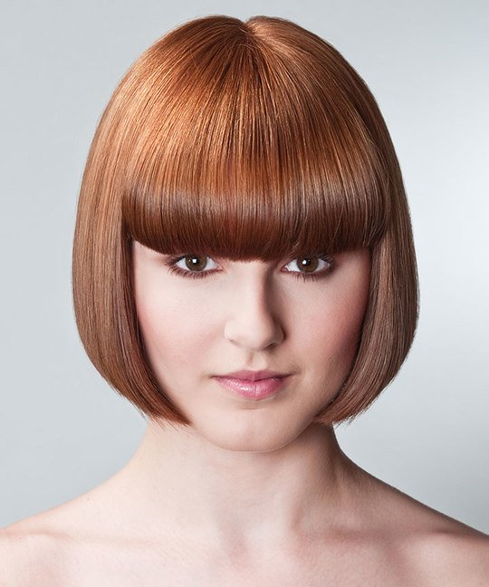 One Length Bob Haircut