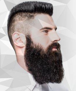 Men's Virgin / Partial Beard Application