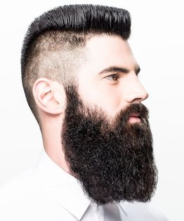Men's Virgin / Partial Beard Colouring