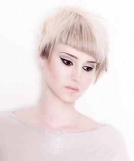 Peggy Moffitt Inspired Internal Asymmetric Shape