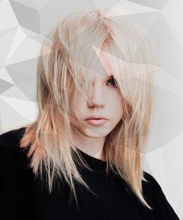 Multi Tonal Pastel Blonde Hair Colour