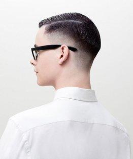 Virgin Tint Application On Men's Hair