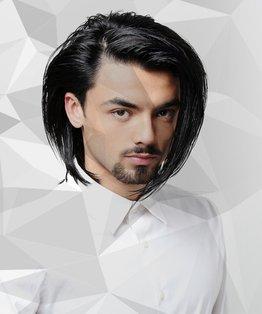 Half Head Foils/Lowlights On Men's Hair