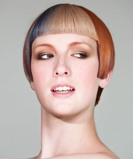 Louise Brookes inspired bob haircut tutorial