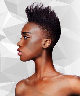Virgin Tint Application on African Type Hair