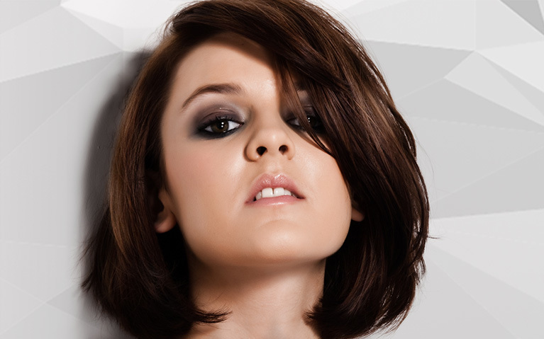 how to do a mid length layered blow dry