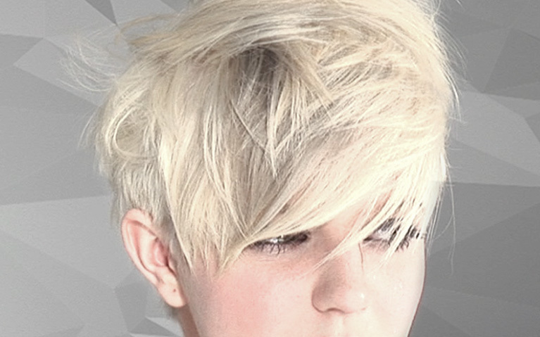 Short Blonde Hair Colouring Tutorial