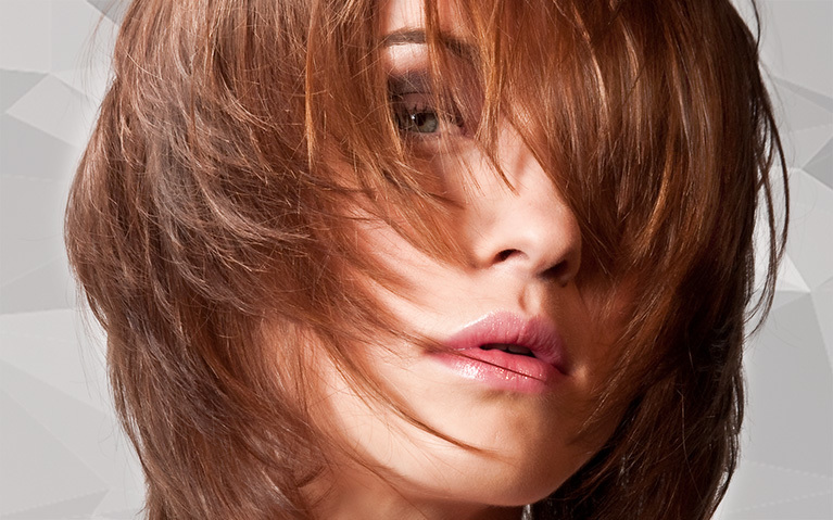 how to do a mid length layered haircut