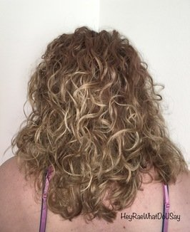 How to wind a spiral perm