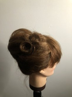 French Roll Hair Styling Tutorial