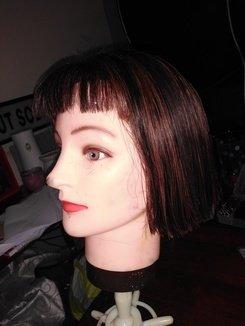 One Length Bob Haircut Tutorial
