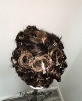 How To Do A Reverse Pin Curls Hairstyle Step By Step