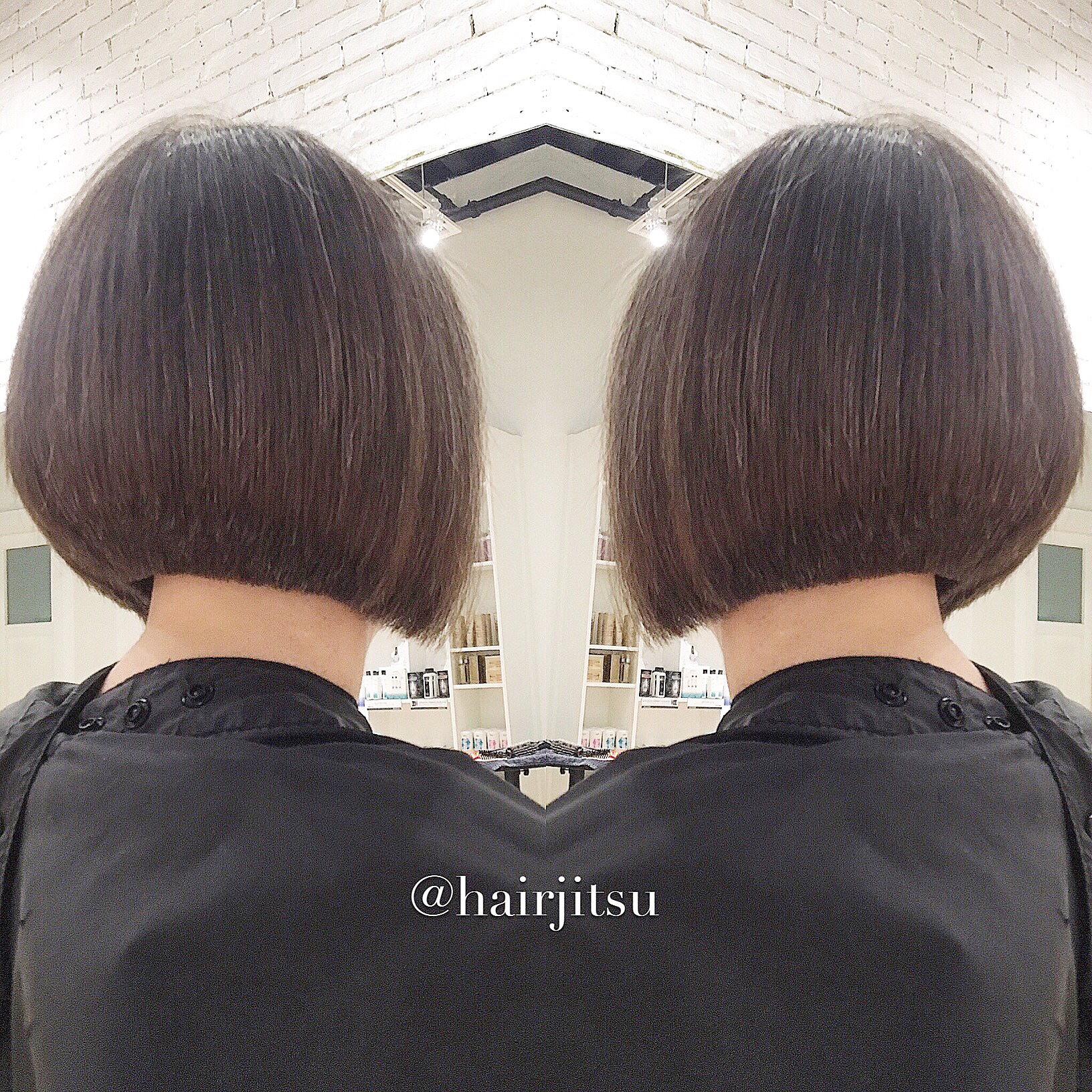 How To Cut A Triangular Graduated Bob Haircut By Christopher Nieves