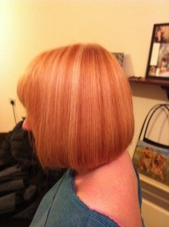 One Length Bob Haircut Tutorial