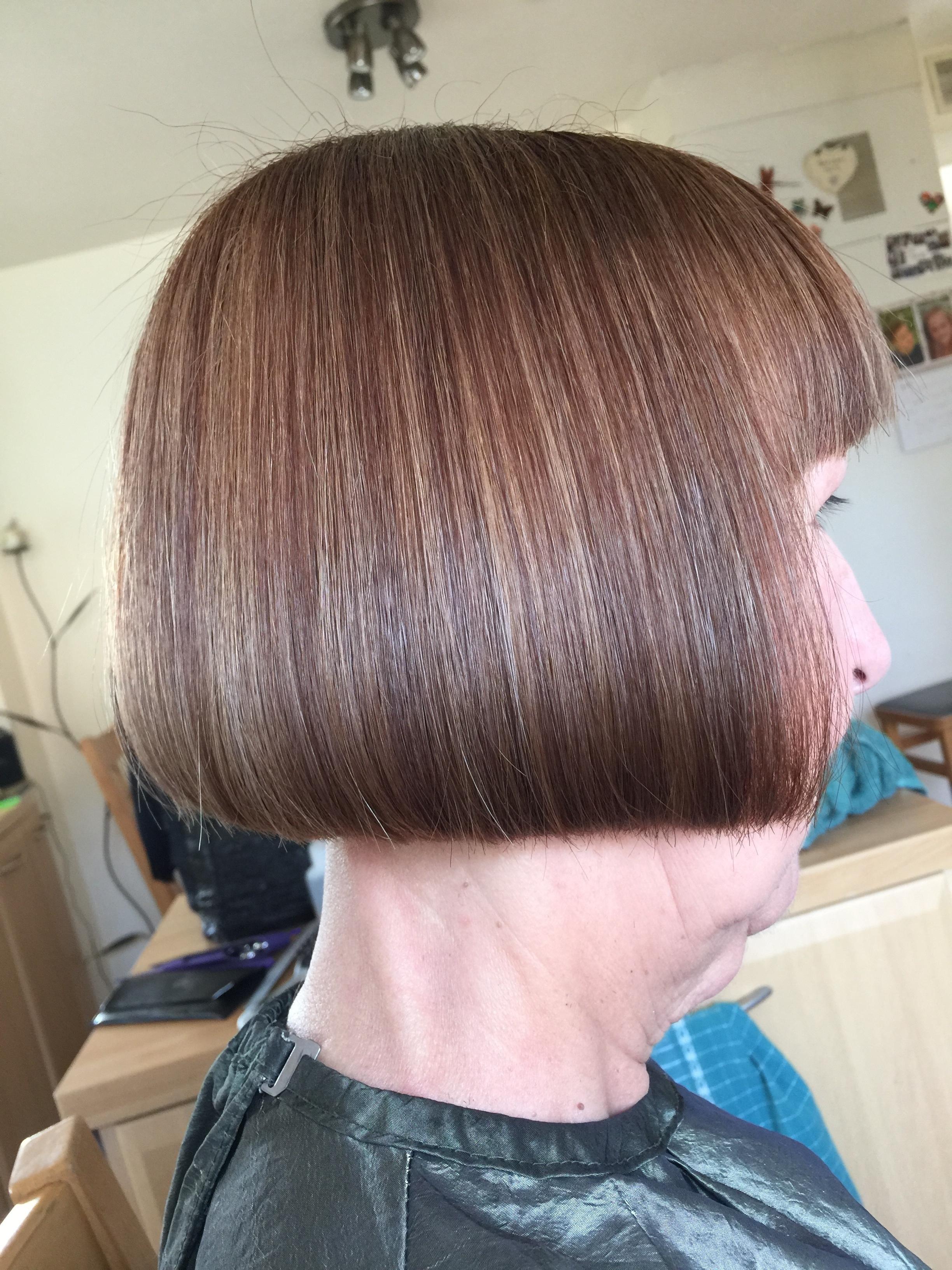 One Length Bob Haircut Tutorial By Mark Martin Mhd