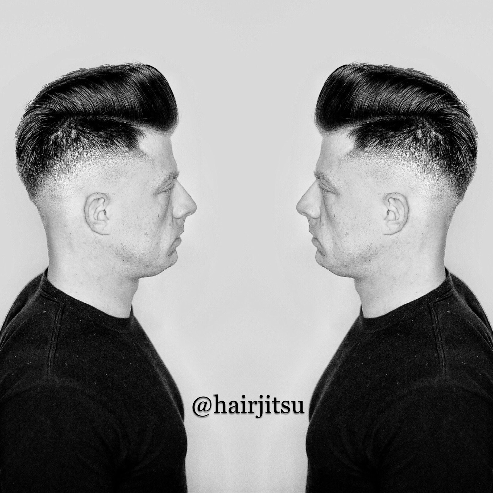 Mens Parting With A Razor Haircut Tutorial Video By Christopher