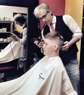 How To Cut Men's Short Flat Graduation Haircut