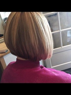 How To Cut A Triangular Graduated Bob Haircut