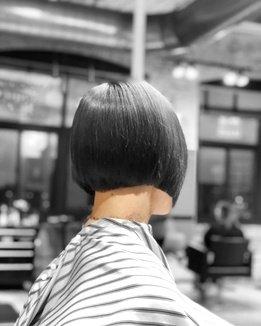 How To Cut A Triangular Graduation Haircut