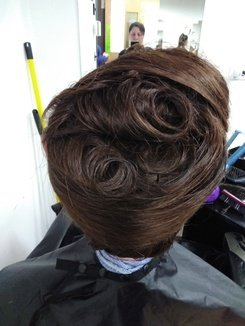 How To Do An Editorial French Pleat